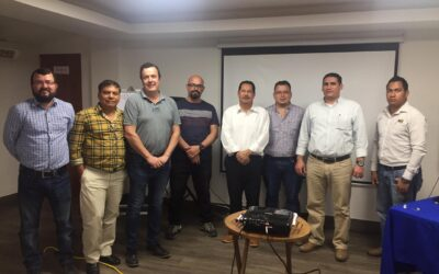Febrero 2019 – Iniciación de los trabajos de prefactibilidad técnica y ambiental del futuro puerto de Bluefields, con la presencia del ministro Óscar Salvador Mojica, por parte de la Ingeniería Arcadis.